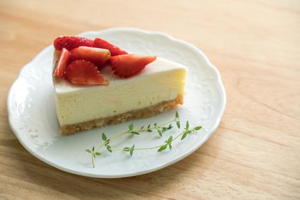Cheesecake z ovesných vloček