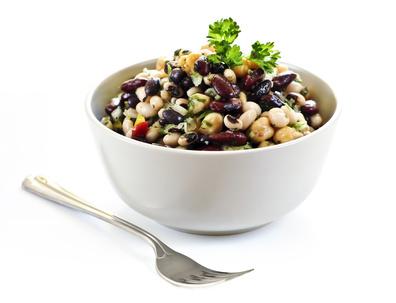 Pikantní luštěninový salát
