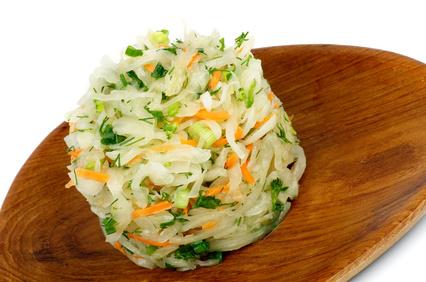 Salát zkysaného zelí
