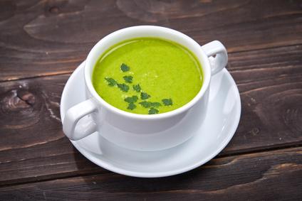 Špenátová polévka pro děti