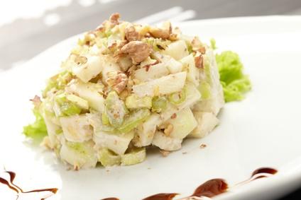 Salát zřapíkatého celeru