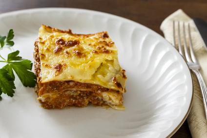 Lasagne z mletého masa