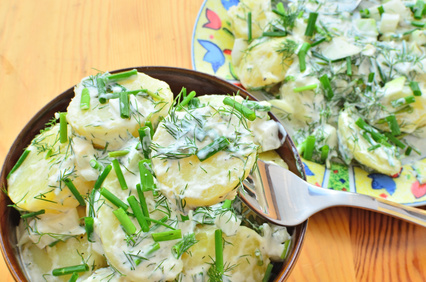 Jogurtová zálivka na salát