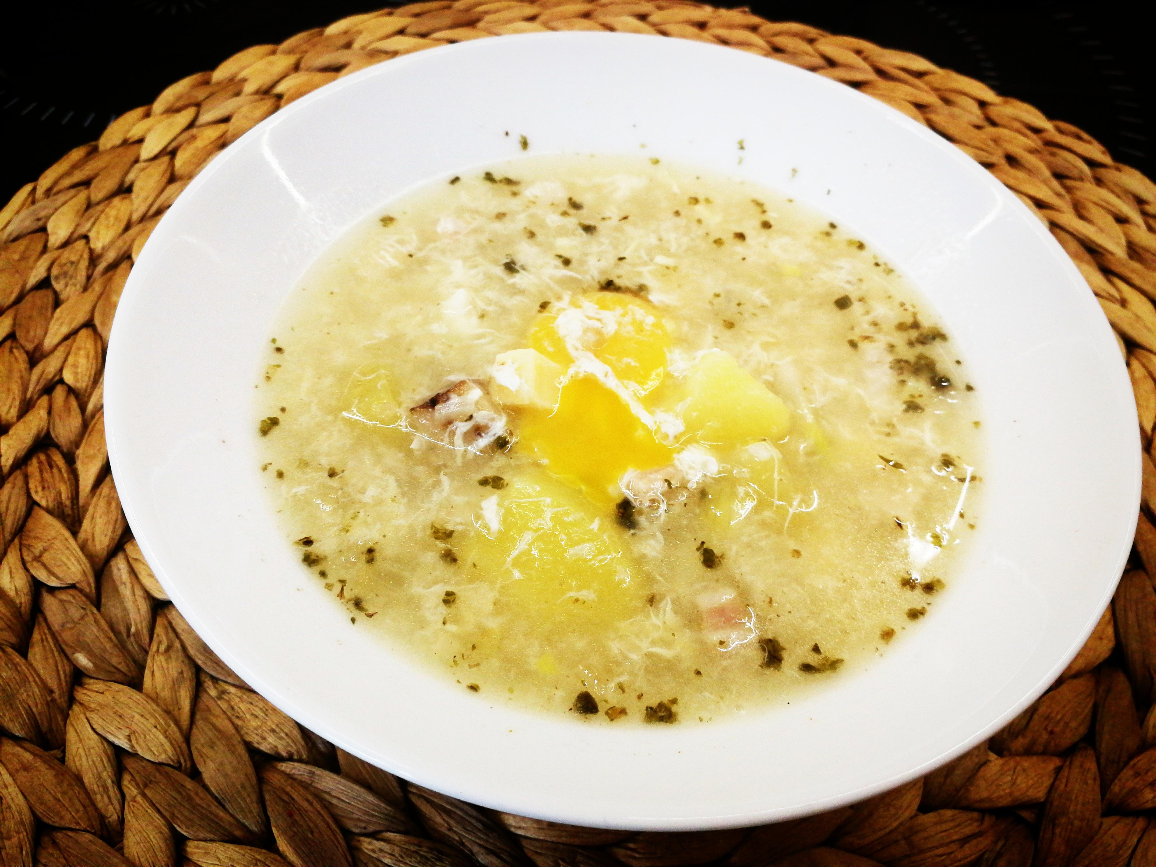 Rychlá česneková polévka