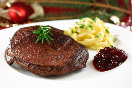 Jelení steak