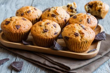 Bezlepkové muffiny s čokoládou