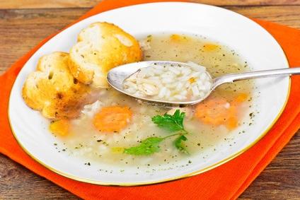Rýžová polévka se zeleninou
