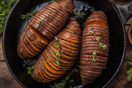 Pečené batáty s tymiánem