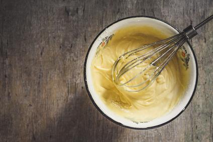 Žloutkový krém na dort