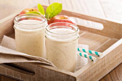 Jablečné smoothie se skořicí
