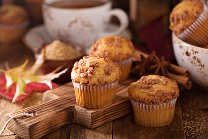 Jablečné muffiny se skořicí
