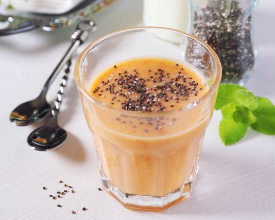 Mandarinkové smoothie s chia semínky