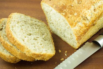 Podmáslový chléb z domácí pekárny