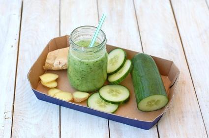 Zelené smoothie se zázvorem