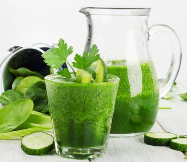 Zeleninové smoothie s chilli