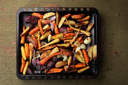 Pečená zelenina jako příloha