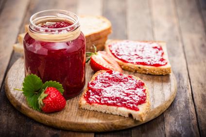 Jahodová marmeláda z domácí pekárny