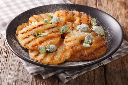 Grilovaný ananas