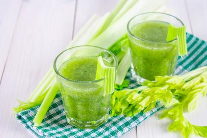 Domácí celerový džus