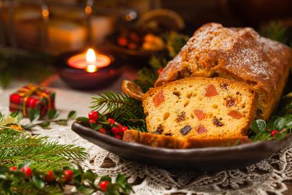 Vánoční ovocný chlebíček