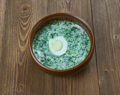 Jarní kopřivová polévka