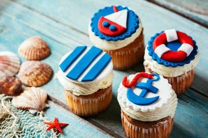 Námořnické cupcakes