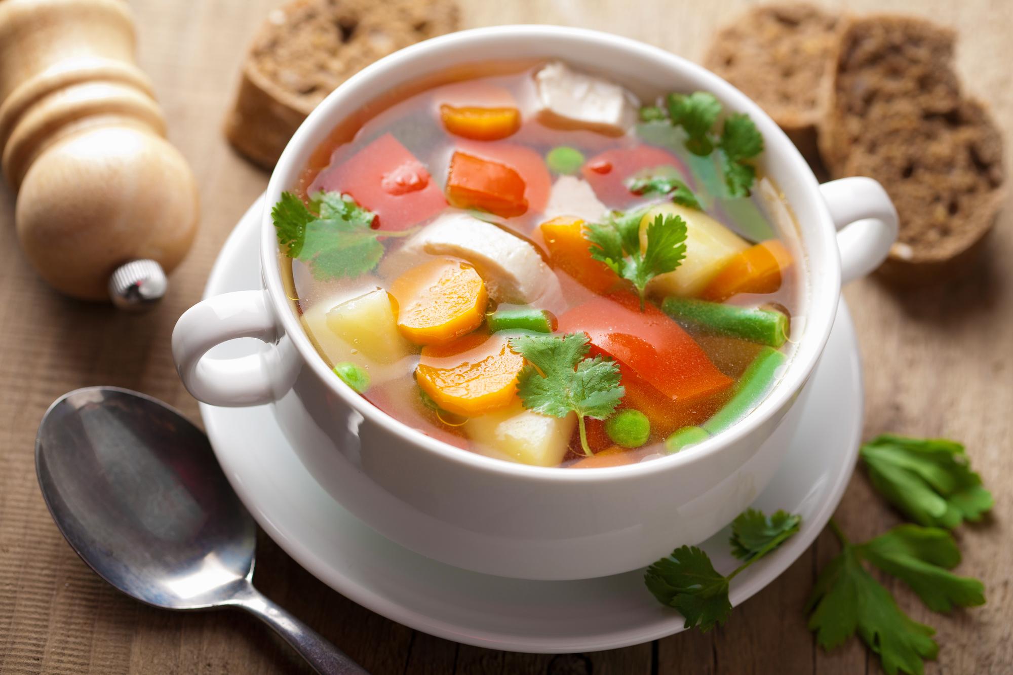 Jarní minestrone