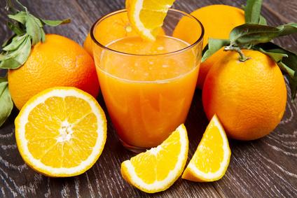 Domácí pomerančový džus
