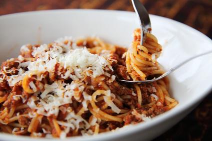 Boloňské špagety s mletým masem