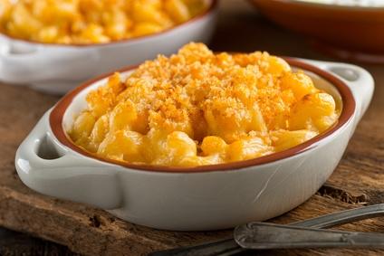 Mac and cheese neboli těstoviny se sýrovou omáčkou
