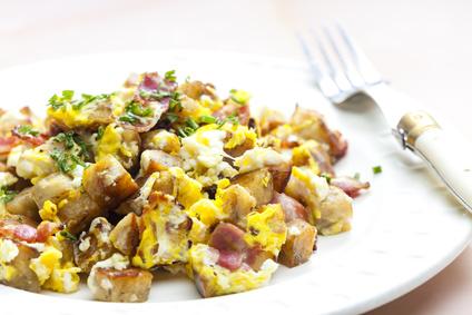 Knedlíky s vajíčkem
