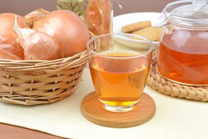 Cibulový čaj proti kašli