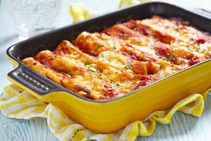 Zapečené cannelloni s mletým masem