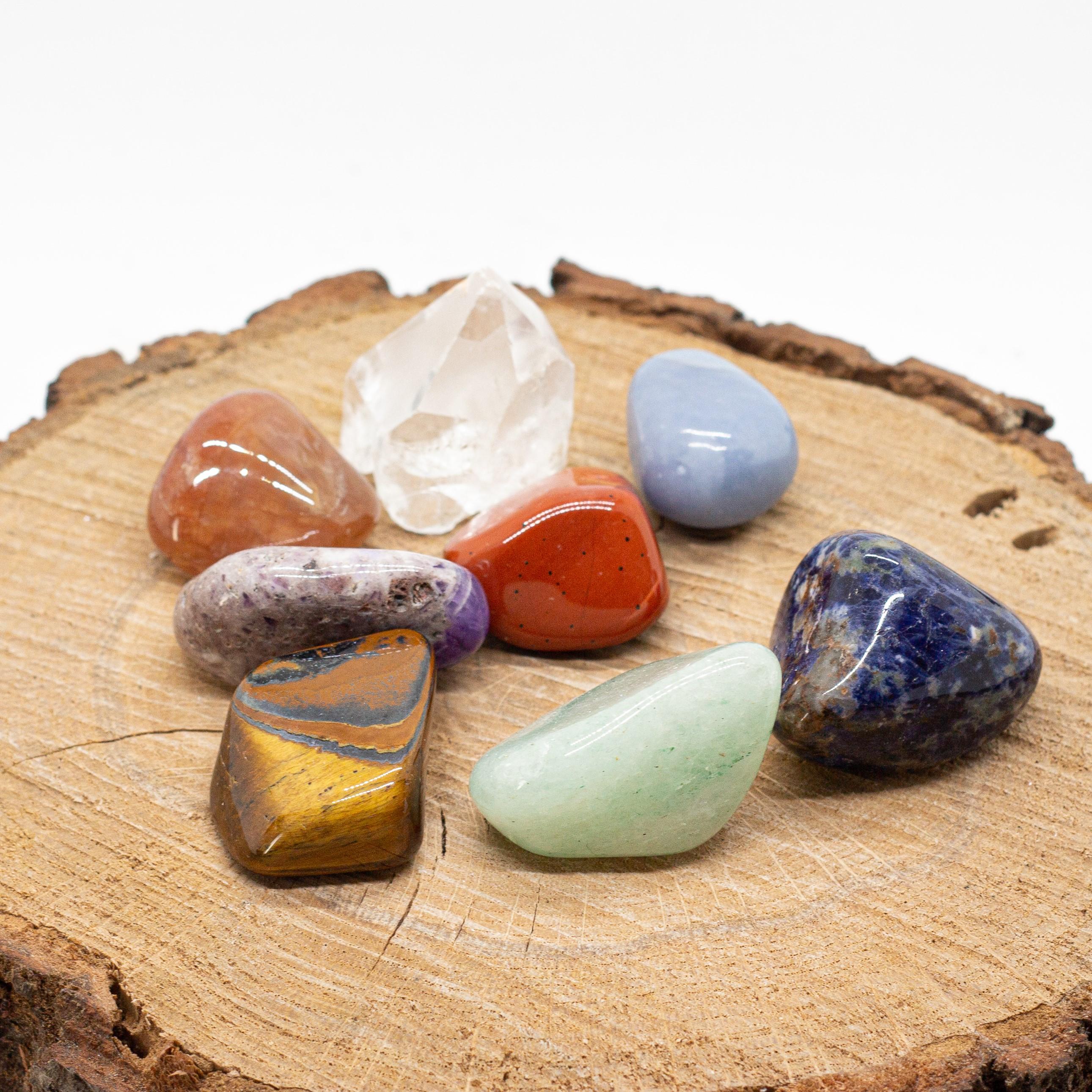 Čakrová sada kamenů