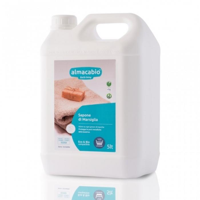 Mýdlo marseillské tekuté na praní 5l ALMACABIO