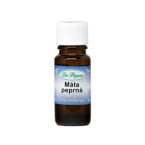 Éterický olej MÁTA PEPRNÁ 10ml Dr.Popov