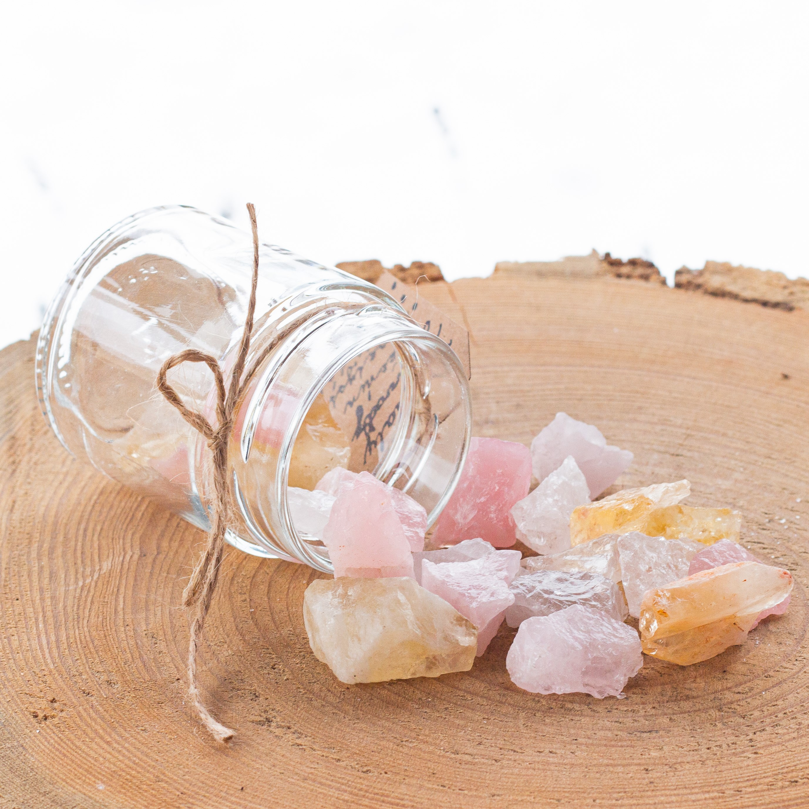 Krystaly do vody LÁSKA a ŠTĚSTÍ