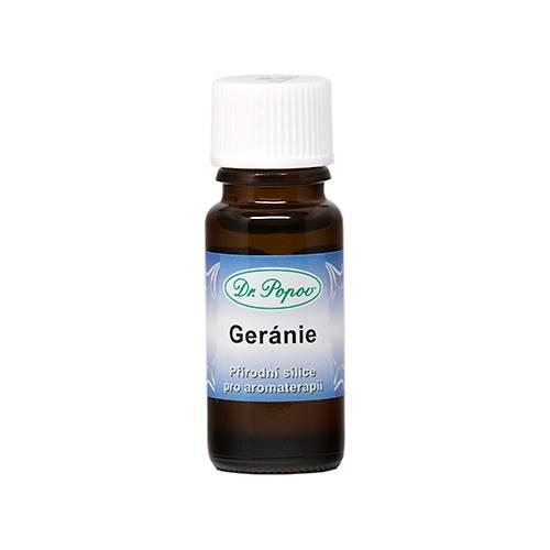 Éterický olej GERÁNIE 10ml Dr.Popov
