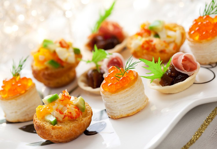 Vyzkou ejte modern kanapky ide ln poho t n na for French canape ideas