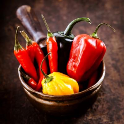 Druhy chilli papriček