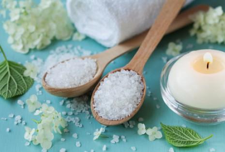 Mořská sůl do koupele