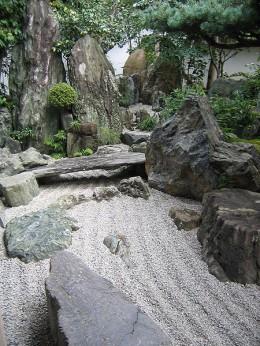 Zenová zahrada je místem pro meditaci. Zdroj foto: Wikipedie