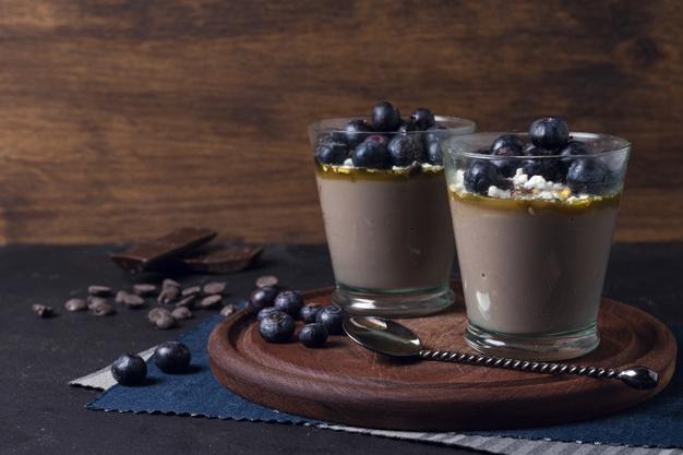 Na vaše slavnostní menu se rozhodně hodí i čokoládová pěna. Je báječná!