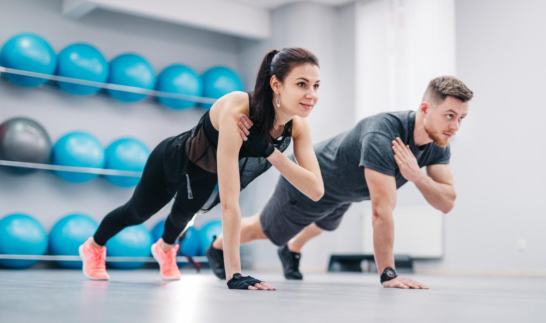 Cviční na hubnutí podpoří i pohled očí