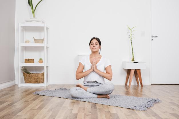 Ranní meditace má očistné účinky.