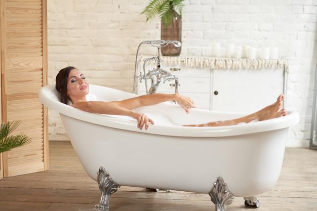 Zeštíhlující koupele jsou skvělé na relaxaci.