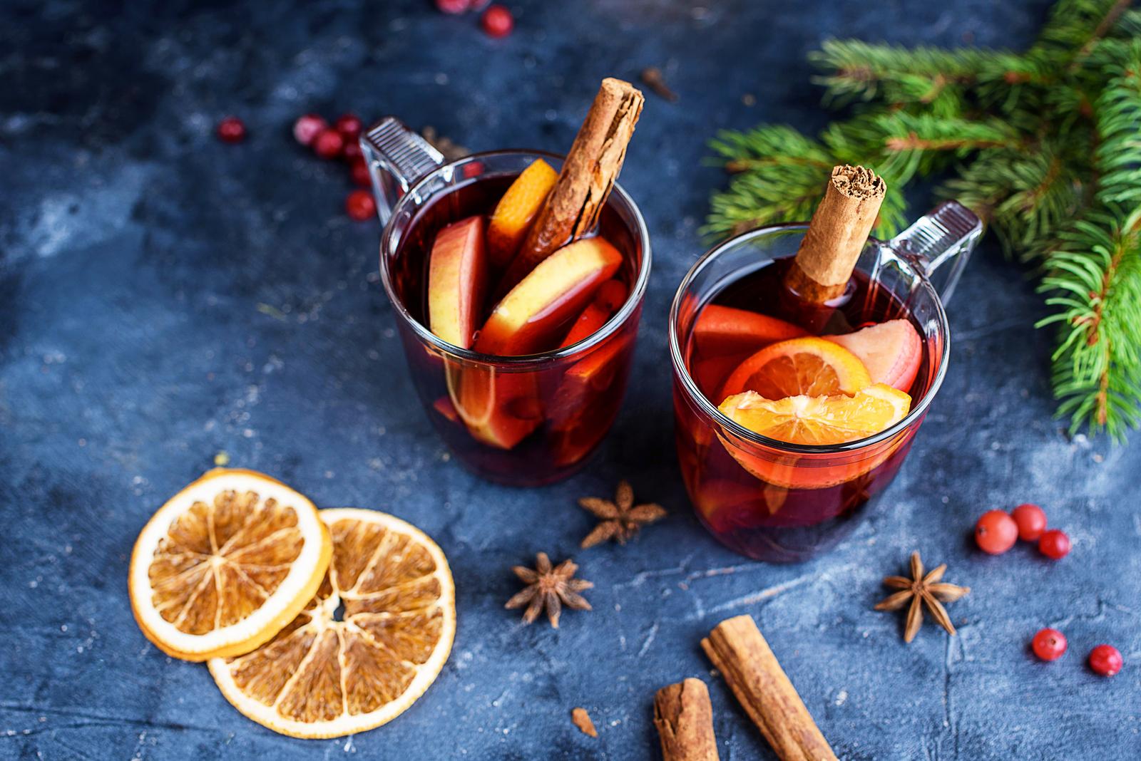 Součástí vánočního období je i vánoční punč