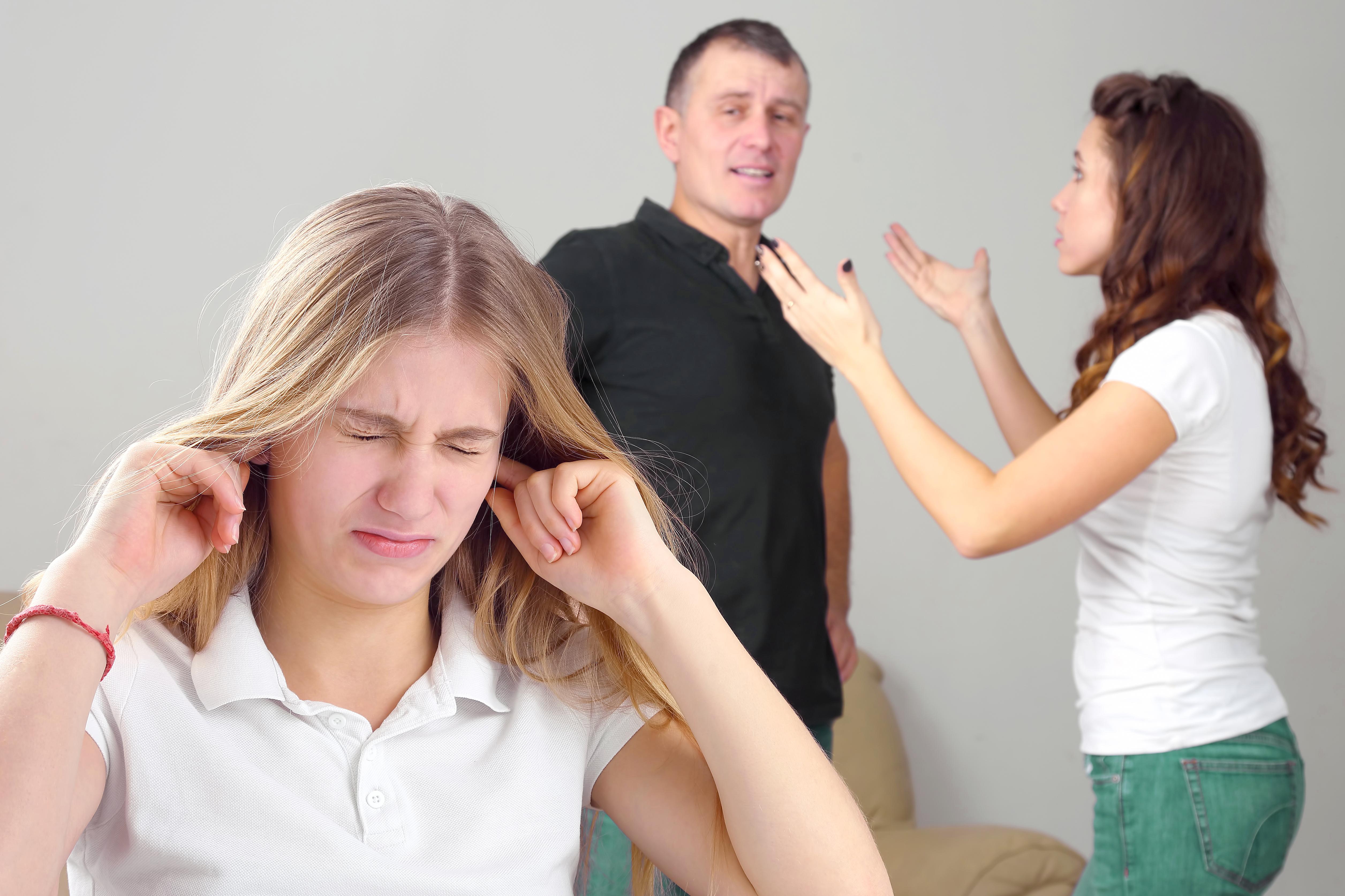 Manželská krize může negativně ovlivnit i děti.