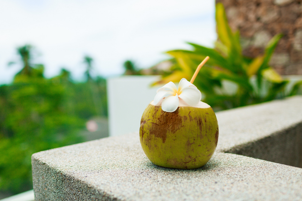 Voda z mladého kokosu je zdraví prospěšná