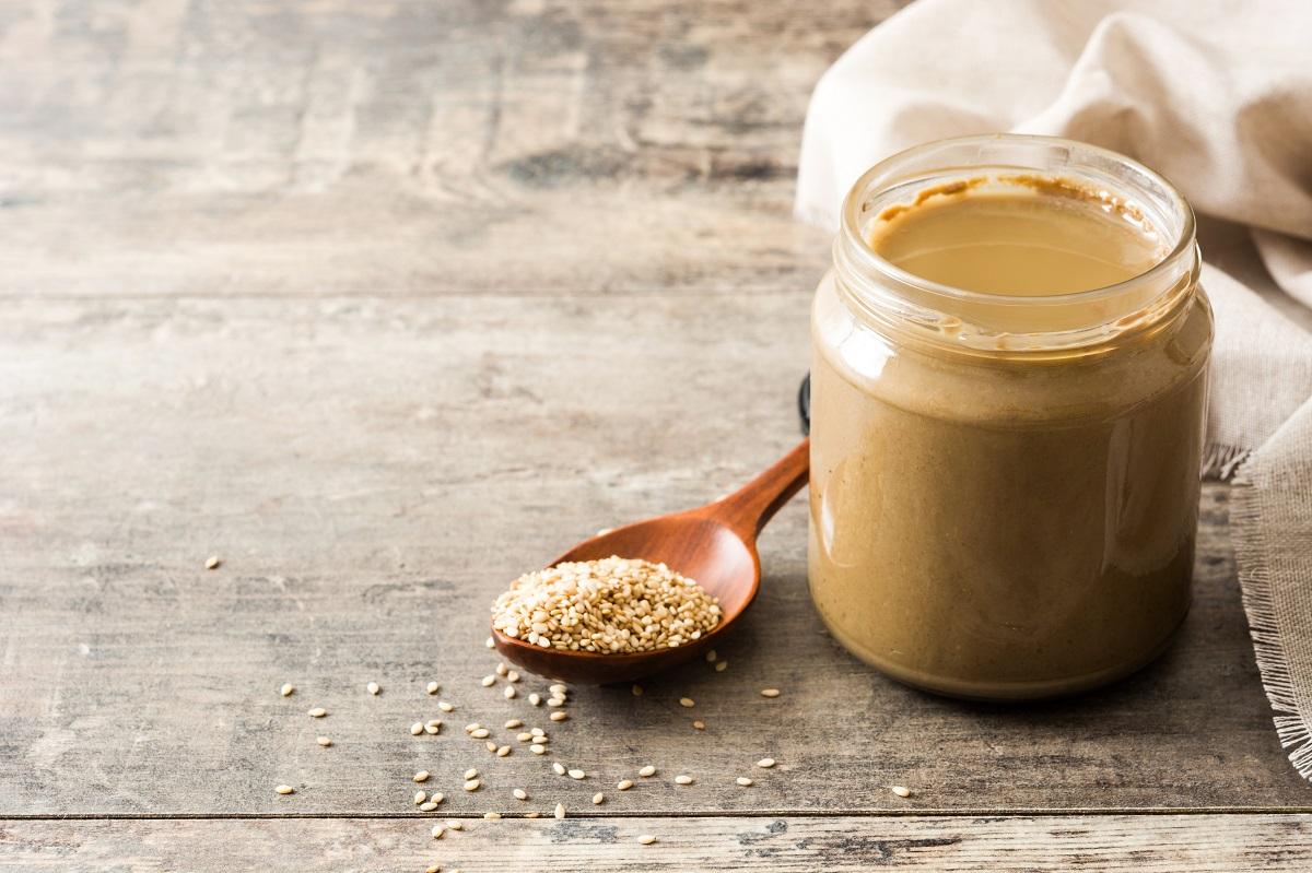 Sezamová pasta je bohatým zdrojem vitamínu T
